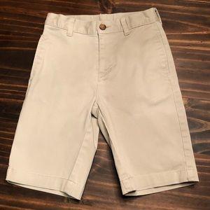 Boy's Wonder Nation Khaki Shorts, Size 10 Slim